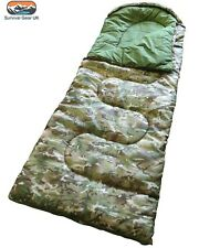 CHILDRENS/KIDS BTP CAMO SLEEPING BAG CAMPING BOYS & GIRLS FREE DELIVERY