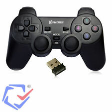PS3 PC USB 2.0 Wireless Game Controller Gamepad Joypad for Laptop Computer