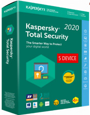 KASPERSKY TOTAL Security 2020 / 5 Device / 1 Year / GLOBAL-KEY /Download/