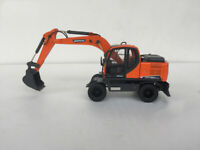 1/40 DOOSAN DX150W-9C Wheeled Excavator 2019 Diecast Model NEW