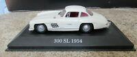 Atlas Editions 1954 Mercedes 300 SL Model Car on Plinth - 1/43  Scale - VGC