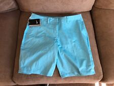Nike Women's Bermuda 2.0 Golf Short SZ 4  831319 432 Light Blue