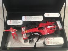 FERRARI - F1 2004 Nr.1 - ALLTIME CAREER RECORD LEADER - MICHAEL SCHUMACHER 1/18