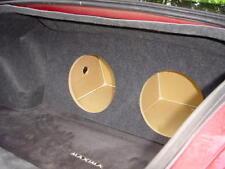 "ZEnclosures 2-12"" Subwoofer Sub Speaker Box for the 2004-2006 Nissan Maxima"