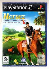 HORSEZ LA SCUDERIA NELLA VALLE PS2 italiano sigillato equitazione cavalli