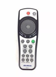 AVerMedia RM-KG OEM Original Replacement Remote Control Black Aver Tested