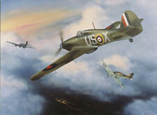 GEOFFREY PAGE LITTLE WILLIE HURRICANE MK I by Jerry Crandall - Aviation Print