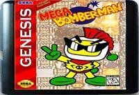 Mega Bomberman (1994) 16 Bit Game Card For Sega Genesis / Mega Drive System