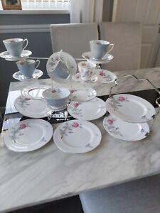 Royal Albert Mixed  'Trent Rose' Tea-set