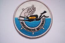 Aufnäher  Police France  Gendarmerie Nationale  ca 8 cm