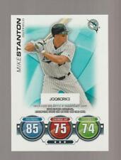 2010 Topps Attax Giancarlo Stanton rookie card, New York Yankees