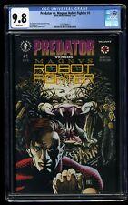 Predator vs. Magnus Robot Fighter #1 CGC NM/M 9.8 White Pages