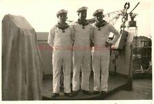 Foto, Kriegsmarine, Auf der Brücke vom Linienschiff Holstein  (N)20860
