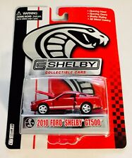 🏁 SHELBY COLLECTIBLES 2010 Red Ford Shelby GT500 🏁