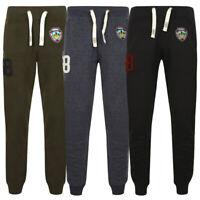 Tokyo Laundry Mens Timberwolf Joggers Gym Jogging Pants Sweatpants Size S-XL