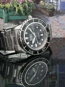 Seiko 5 SNZH55J1 Japanese FFF watch black date vintage fifty five 55 fathoms MOD