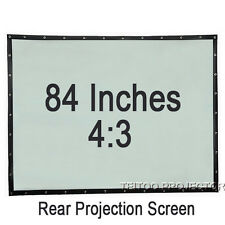 84 Inch 4:3 PVC Portable Home Office Rear Projection Screen for Projector Beamer