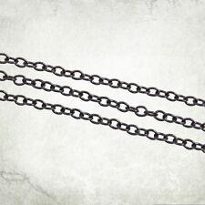 Black Hobby Chain 3,5mm x 3mm (1 meter) Kromlech KRMA048