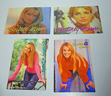 Britney Spears Trading Card Stickers Series Two Vending Sticker 1 2 4 7 1999
