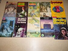 COLLECTION OF 10 GHOST STORIES BOOKS FOR CHILDREN - Spooky, Haunted Tales