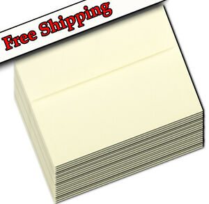 Ivory Envelopes A1 A2 A6 A7 for Greeting Cards Invitations Shower Wedding Pastel