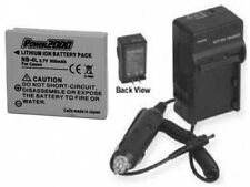 NB-4L NB4L Battery + Charger for Canon SD940 IS SD940IS ELPH 310 HS IXUS 230 HS