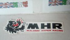 Malossi Hyper Racing 148mm Scooter Tuning Stickers x2