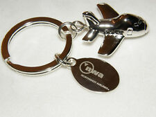 NORTHWEST AIRLINES BOEING 747 AIRPLANE KEY CHAIN NWA DELTA PILOT MECHANIC F/A
