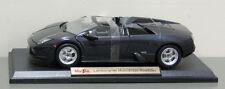 Lamborghini Murcielago Roadster Diecast Model Car - 1:18 Scale - Metallic Black