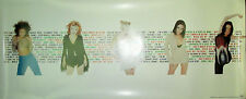 SPICE GIRLS Spice World, original Virgin promotional poster, 1997, 13x31, EX