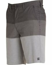 NWT - BILLABONG Men's M255KCXA Gray CROSSFIRE X AIRLITE SUBMERSIBLES SHORTS - 30