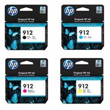 Genuine HP912 CMYK Ink Cartridges for HP OfficeJet 8012 8014 8015 Pro 8022 Lot