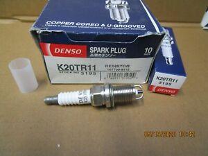 DENSO SPARK PLUG K 20 TR 11  3195 TOYOTA AVENSIS CAMRY VISTA WINDOM X 1