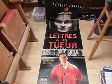 AFFICHE CINEMA pour loueur dvd - LETTRES A UN TUEUR - PATRICK SWAYZE -