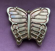 """5oz YPS """"Butterfly"""" 999+ fine silver bullion bar """"Yeager's Poured Silver"""""""