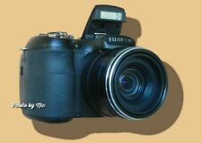 FUJIFILM FUJI FINEPIX S1800-COMFORTABLE TO HOLD-CLEAR PICT-VIEWFINDER-18X ZOOM