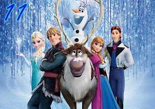 Disney Frozen Elsa, Anna, Olaf A4 Poster wall art print 297X210mm Free p&p