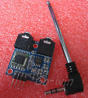 1PCS 76-108MHZ 5V TEA5767 FM Stereo Radio Module + Cable Antenna Arduino