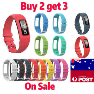 Silicone Replacement Watch Band Wrist Strap for Garmin Vivofit 1 2 Tracker New