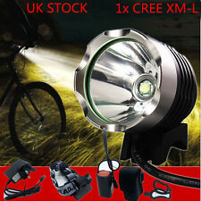 CREE XML T6 LED MTB Front Mountain Bike Headlight Head Torch Recharegable Light