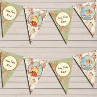 Winnie The Pooh Banner Children's Party Bunting