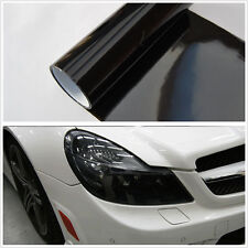 30cm x 200cm Dark Smoke Black Tint Film Headlights Tail lights Car Vinyl Wrap