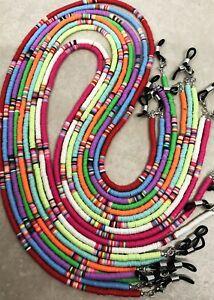 Surfer Style Eyeglass Chain, Reading Glasses, Readers,  Sunglasses Holder