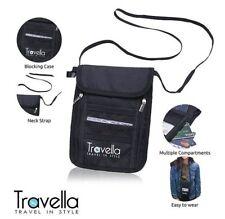 Travella RFID Passport Holder Neck Wallet for Travels