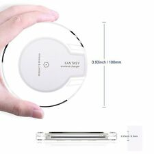 Slim QI Wireless Charger Charging Pad Mat for iPhone X iPhone 8 Plus Samsuang S8