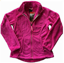 The North Face Girls Osito Fleece Jacket Rose Luminous Pink Medium