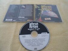 CD JEFFERSON AIRPLANE - SOMEBODY TO LOVE and other great Hits MCPS 16257CD 1986