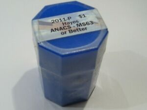 ANACS MS63 Dollar Presidential Roll 2011-P Hayes - Sealed. #72