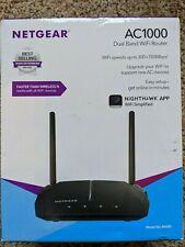 Netgear R6080 AC1000 Dual-Band Wi-Fi Router - Black Used