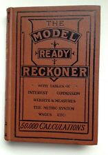 The Model Ready Reckoner - does 50,000 sums - a must for number crunchers!